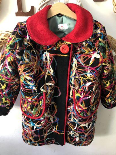 Unique Wool Coat by Nukka