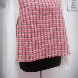 Crop Top Wool Mix Shirt