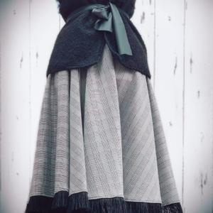 Neo Fringe Circle Skirt
