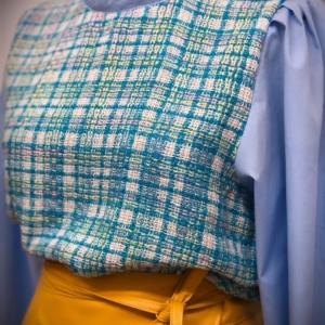 Leather Wrap Skirt2