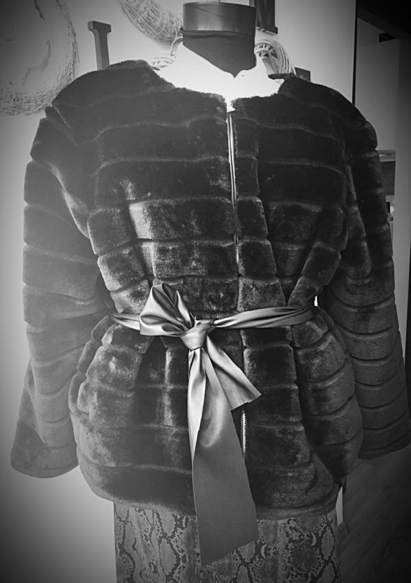 NLH Faux Fur Coat