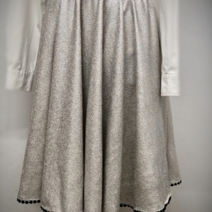 Nukka Metallic Circle Skirt