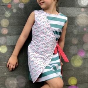 Double Sided Wrap Dress