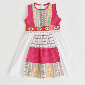 Etno Belt Dress with Apron