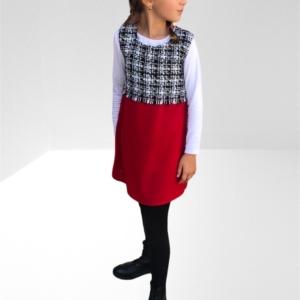 wool mix shift dress