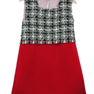 The wool mix shift dress
