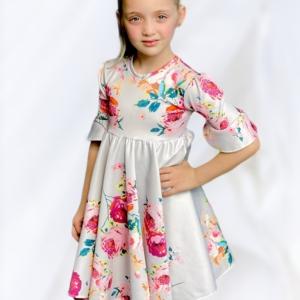 babydoll peony dress